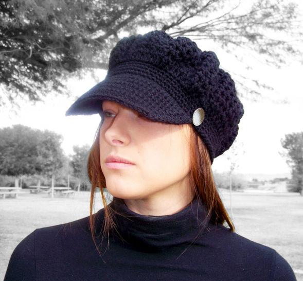 Download Newsboy Hat, Newsboy Cap - Crochet Patterns immediately at Makerist