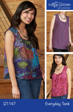 Download Everyday Tank - Sewing Patterns immediately at Makerist