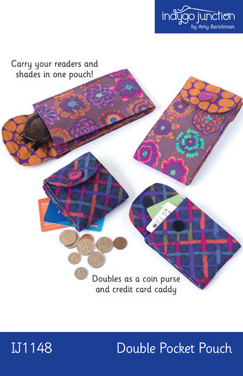 Download Double Pocket Pouch - Sewing Patterns immediately at Makerist