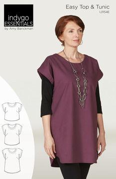 Download Indygo Essentials - Easy Top & Tunic - Sewing Patterns immediately at Makerist