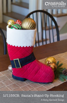 Download Santa's Stand-up Stocking - Sewing Patterns immediately at Makerist