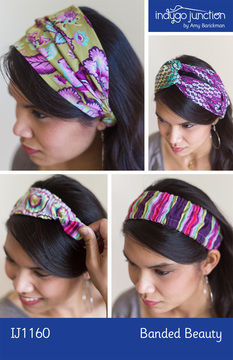 Download Banded Beauty Headbands - Sewing Patterns immediately at Makerist