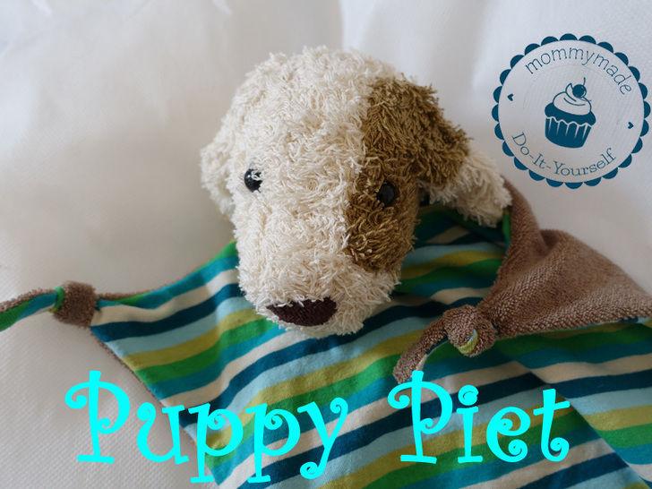 ebook Schmusetuch Puppy Piet Kuscheltuch Hund Welpe  - Nähanleitungen bei Makerist sofort runterladen