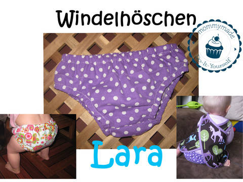 ebook Windelhöschen Baby Windel Überzieher Diaper Cover Schnittmuster Nähanleitung bei Makerist sofort runterladen