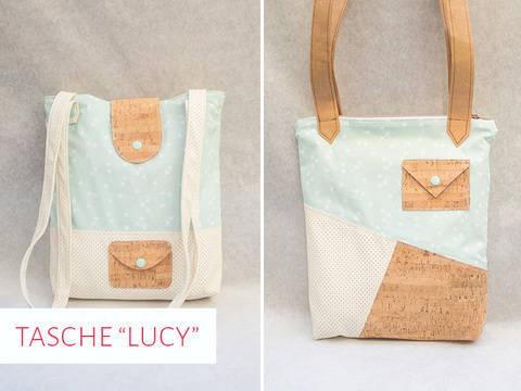 """Schnittmuster Tasche """"Lucy"""" bei Makerist sofort runterladen"""