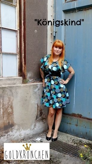 Königskind Ebook, Kleid, Shirt, Bolero/ Strickjacke Gr.36-42 - Nähanleitungen bei Makerist sofort runterladen