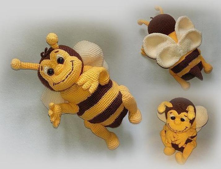 Häkelanleitung Biene Susi Sum Sum - Häkelanleitungen bei Makerist sofort runterladen