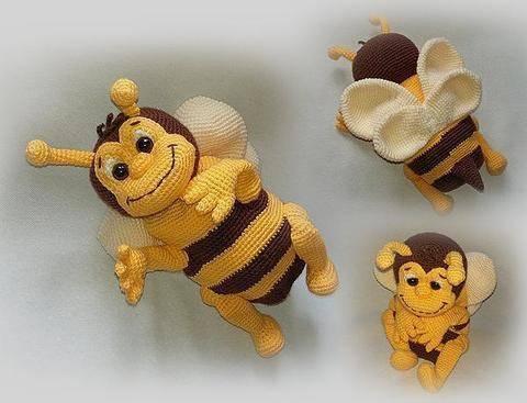 Häkelanleitung Biene Susi Sum Sum bei Makerist sofort runterladen
