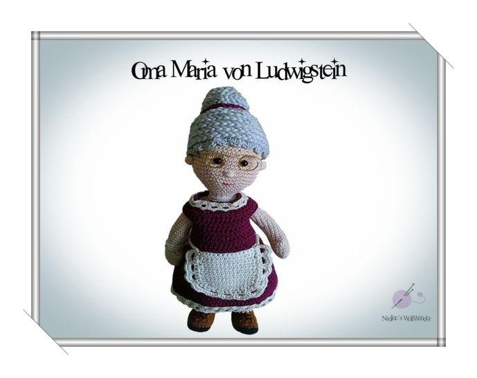Häkelanleitung: Oma Maria von Ludwigstein - Häkelanleitungen bei Makerist sofort runterladen
