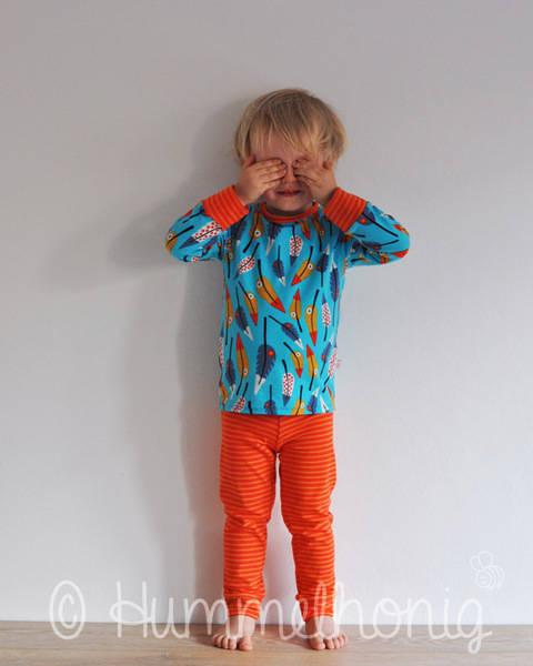 Pyjama (Gr. 92 - 140) Schnittmuster und Nähanleitung bei Makerist sofort runterladen