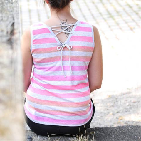 """Shirt """"Sommerlaune"""", Gr. 32 - 48 bei Makerist sofort runterladen"""