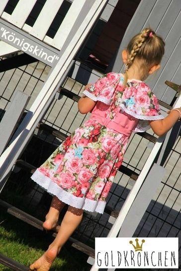 Königskind Ebook, Kleid, Shirt, Bolero/ Strickjacke Gr.62/68-134/140 - Nähanleitungen bei Makerist sofort runterladen