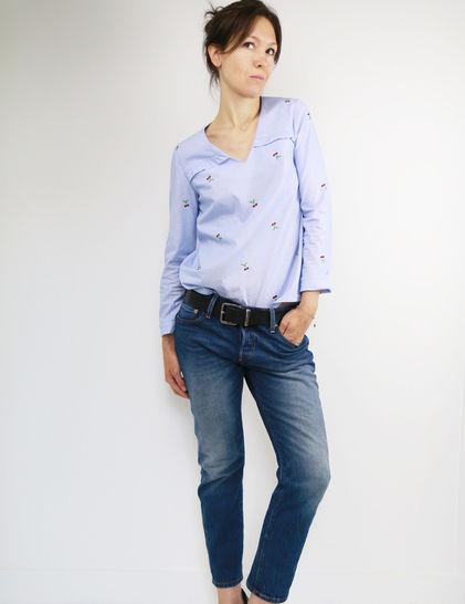 Télécharger Tuto : décliner la robe Be Pretty en blouse - du 34 au 48 - couture - Patrons de couture tout de suite sur Makerist