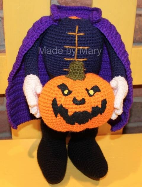 Download Headless Horseman Amigurumi immediately at Makerist
