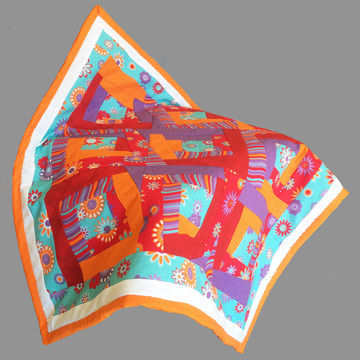Download Baby quilt paper piecing pdf pattern and tutorial - Kaleidoscope - Patchwork & Quilting immediately at Makerist