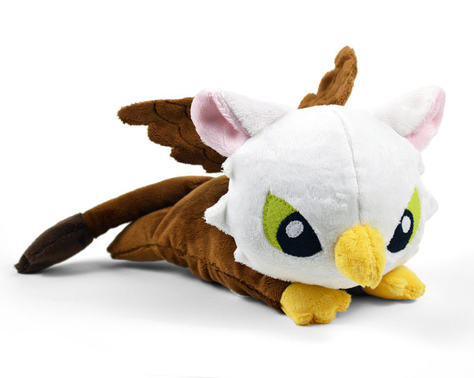 Baby Griffin Plush Toy Sewing Pattern