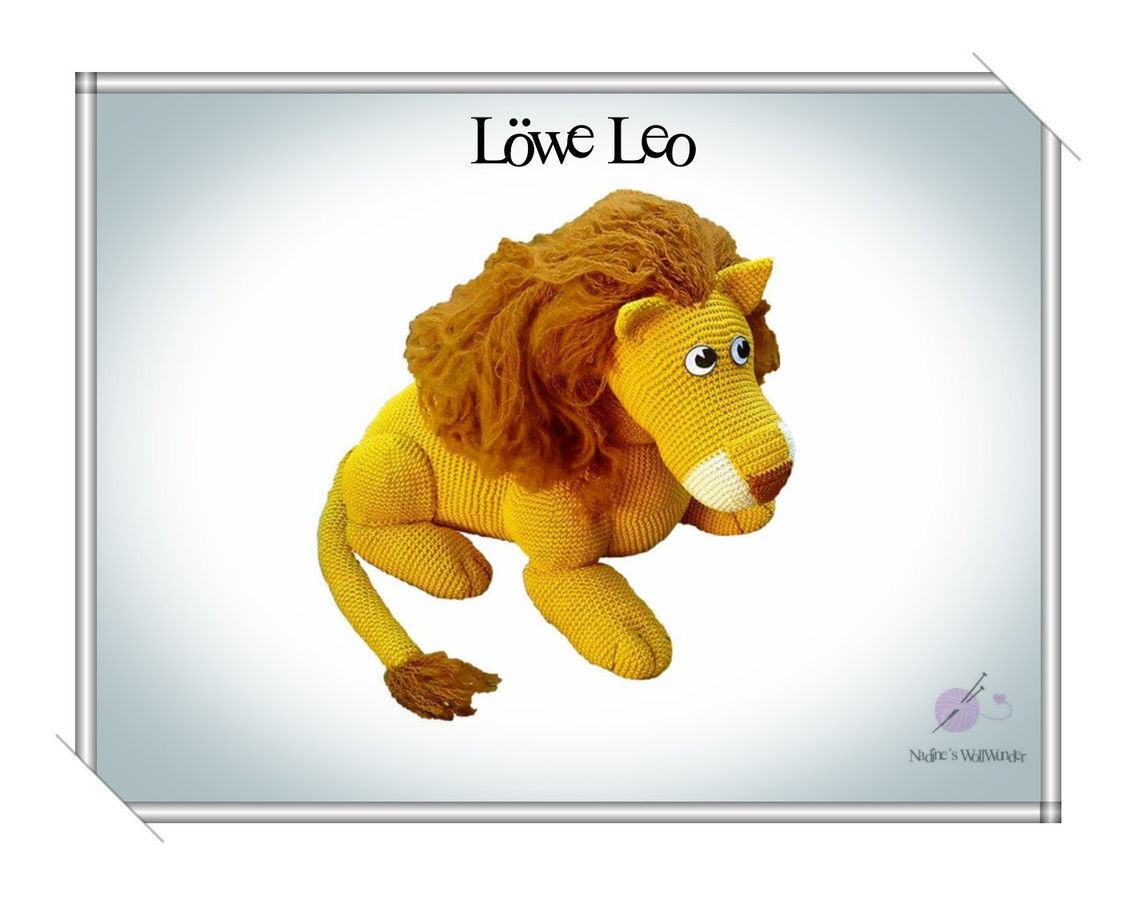 Häkelanleitung Löwe Leo