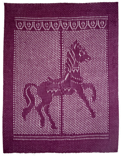 Download Carousel Baby Blanket - Knitting Patterns immediately at Makerist