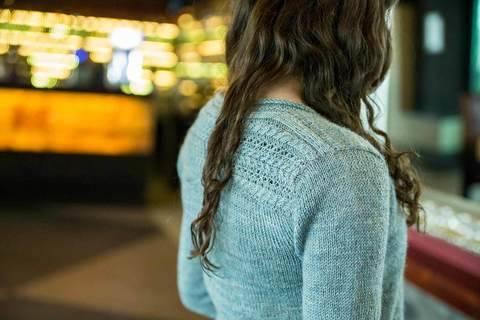 Walkham - Elegante Strickjacke wird nahtlos bei Makerist sofort runterladen