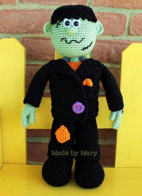 Download Frankenstein Amigurumi immediately at Makerist