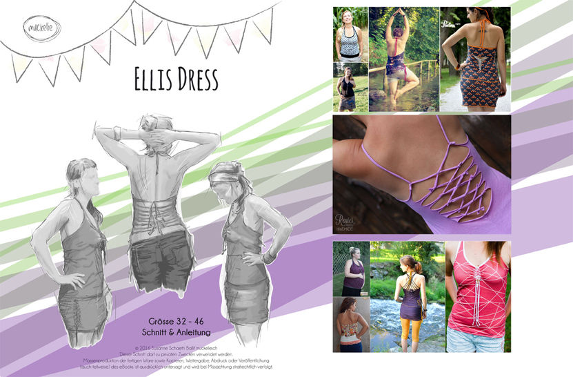 Ellis Dress - Nähanleitungen bei Makerist sofort runterladen