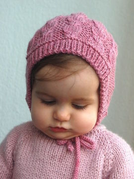 Download Silverfox Bonnet - knitting pattern - Knitting Patterns immediately at Makerist