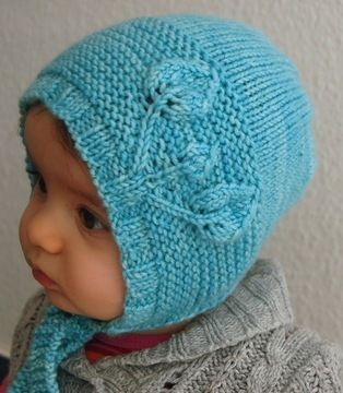 Download Petites Feuilles Bonnet - Knitting Patterns immediately at Makerist