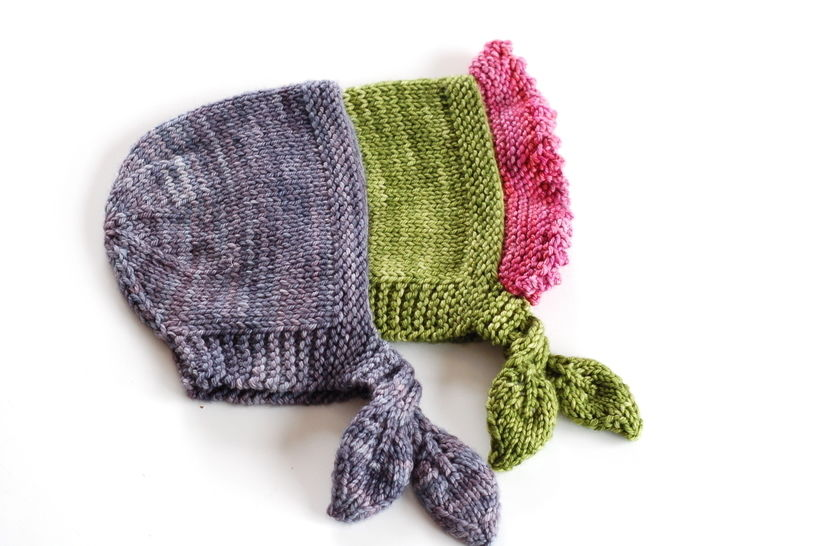 Download Buds and Blossoms baby bonnet - knitting pattern - Knitting Patterns immediately at Makerist