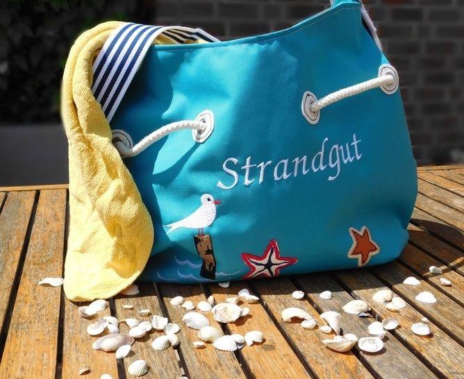 "E-Book ""Bag-Bord"" Tasche / Strandtasche - Nähanleitungen bei Makerist sofort runterladen"