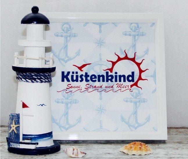 Küstenkind - Sonne, Strand und Meer - Plotterdatei - Plotterdateien bei Makerist sofort runterladen