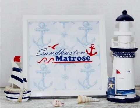 Sandkastenmatrose - Plotterdatei bei Makerist sofort runterladen