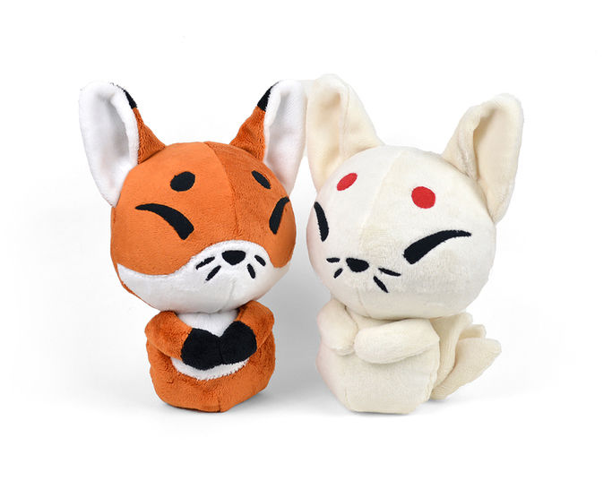 Download Baby Fox Kitsune Plush Toy Sewing Pattern - Sewing Patterns immediately at Makerist