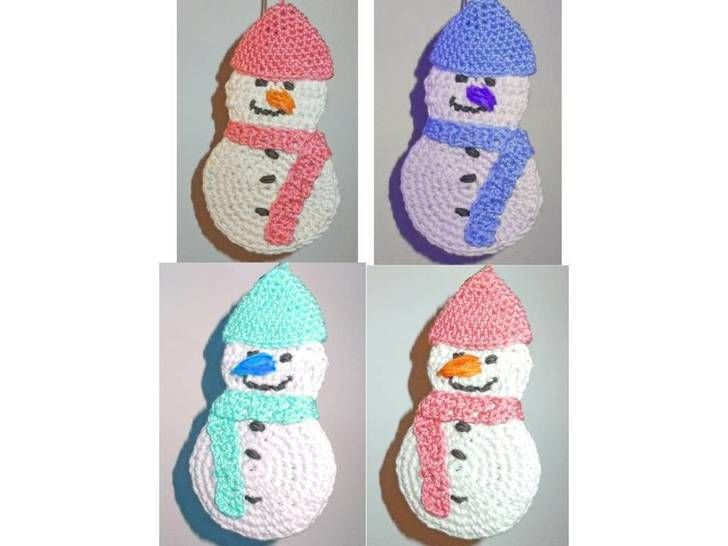 Download Snowman Frosty - Crochet Patterns immediately at Makerist