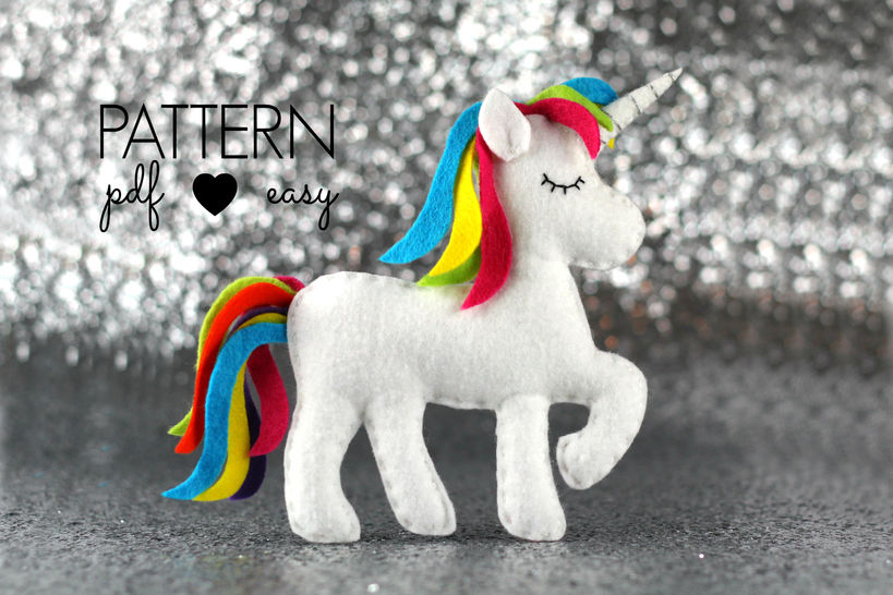 Download Unicorn Sewing Pattern - Sewing Patterns immediately at Makerist