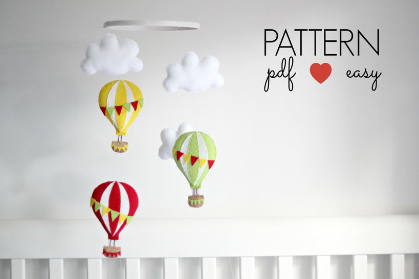 Download Hot Air Balloon Sewing Pattern - Sewing Patterns immediately at Makerist