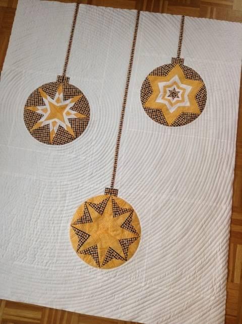 Ornament Quilt - 8 Kugeln von ayliN-Nilya bei Makerist sofort runterladen