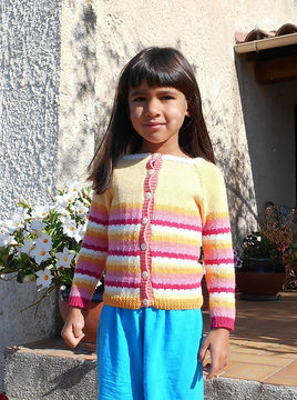 Download Friandise - cardigan for babies and children - Knitting Patterns immediately at Makerist