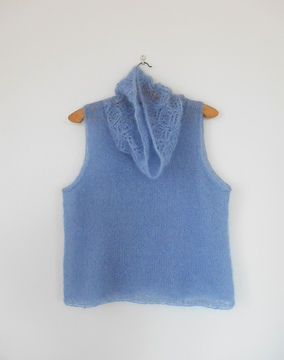 Download Sahaba - sleeveless sweater for women - Knitting Patterns immediately at Makerist