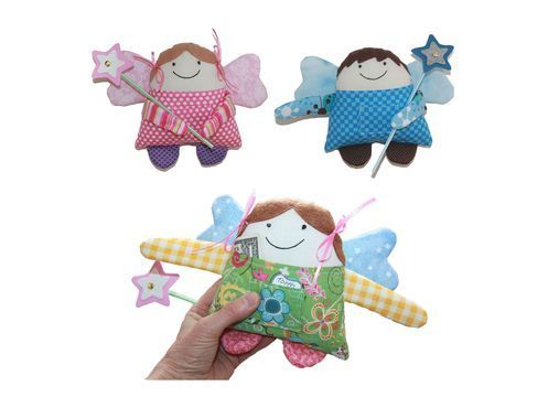 Download Tooth Fairy or Little Angel Boy or Girl Doll Sewing Pattern - Sewing Patterns immediately at Makerist