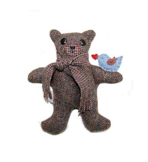Download My Message Bear Sewing Pattern   immediately at Makerist