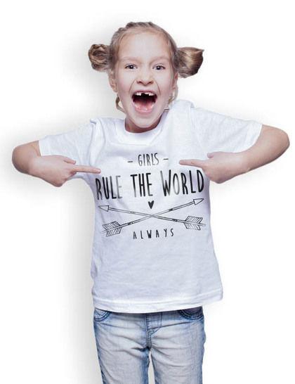 GIRLS RULE THE WORLD & MOM/MUM RULES THE WORLD SET PLOTTERDATEI - Plotterdateien bei Makerist sofort runterladen