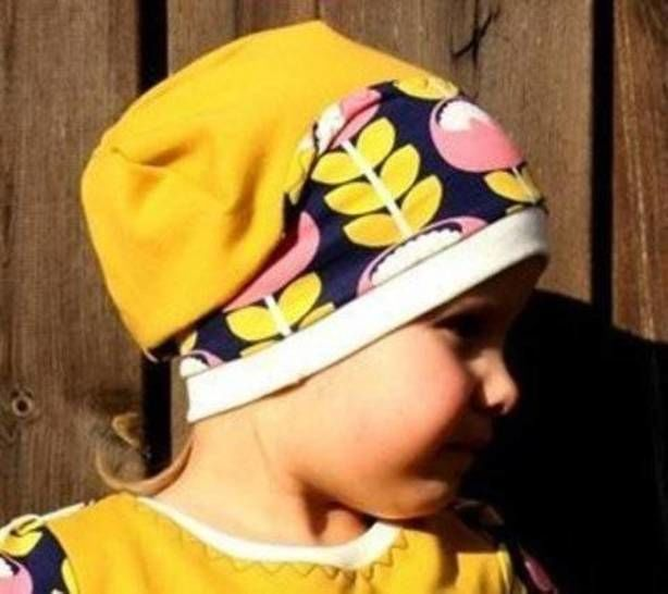 Download eBook Turn Beanie WAVE 3 Sizes  - Sewing Patterns immediately at Makerist