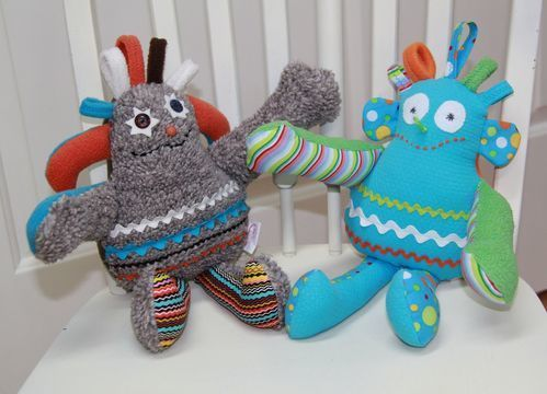Download Especially Terrific Creature Toy Sewing Pattern - Sewing Patterns immediately at Makerist