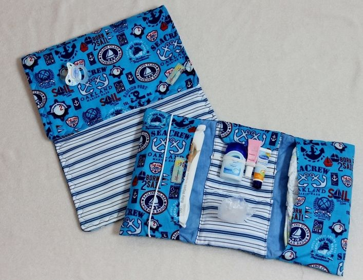 Windeltäschchen & Wickelunterlage zur MiLana E-Book - Nähanleitungen bei Makerist sofort runterladen