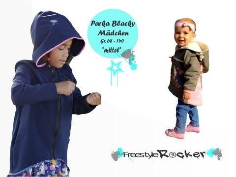 Parka Blacky für Mädchen * Schnittmuster & Anleitung * Gr. 68-140 bei Makerist sofort runterladen