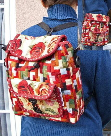 "Anleitung zum Nähen der Tasche ""Back-Side-Bag"" - Nähanleitungen bei Makerist sofort runterladen"