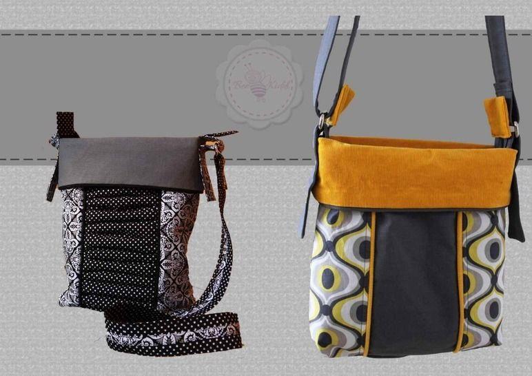 Tasche in 2 Größen BeeBag No.1  - Nähanleitungen bei Makerist sofort runterladen
