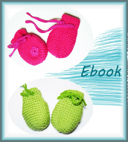 Häkelanleitung Babyhandschuhe - Häkelanleitungen bei Makerist sofort runterladen