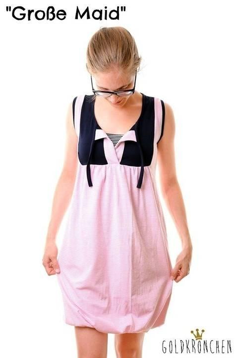 Große Maid Ebook, Shirt/ Kleid Gr.34/36-46/48 bei Makerist sofort runterladen