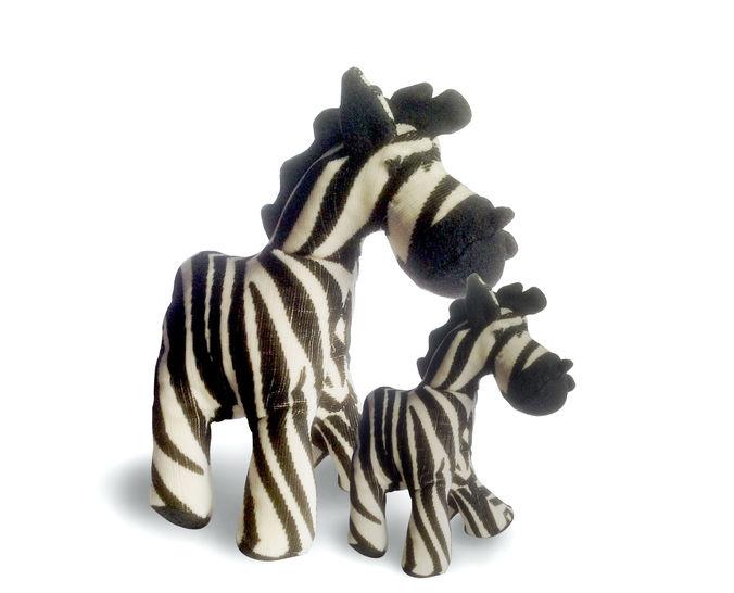 Schnittmuster + Nähanleitung Zebra in zwei Größen - Nähanleitungen bei Makerist sofort runterladen